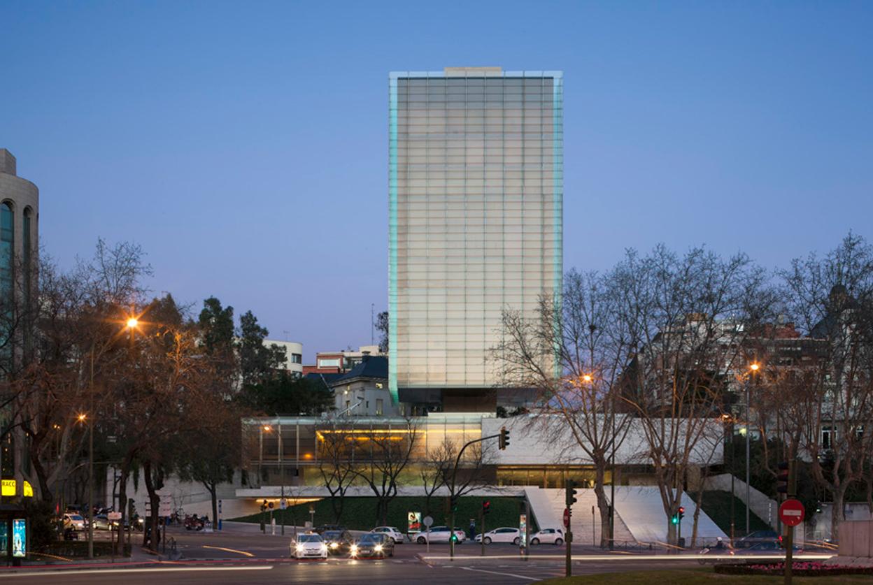 Arquitecto espa ol lider torres modernas en madrid - Arquitectos de madrid ...